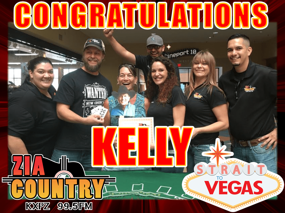 STRAIT TO VEGAS - KELLY