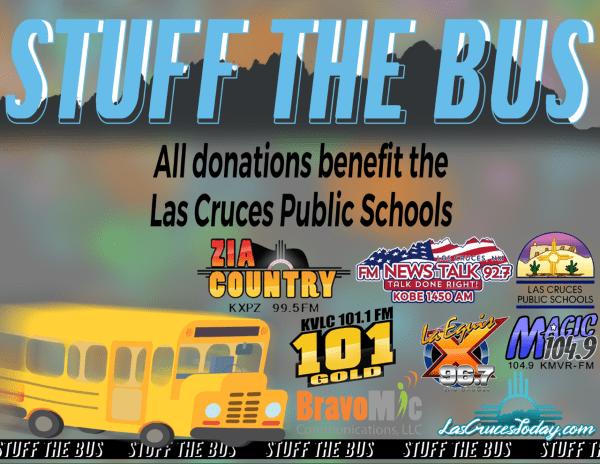 Stuff the Bus for Las Cruces Public Schools 2021